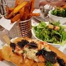 Truffle Lobster Roll ($58++)