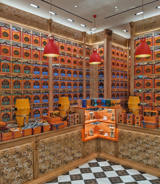 Shelves Of Cofffee