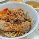 Prawn And Pork Rib Dried Noodles ($5.50)