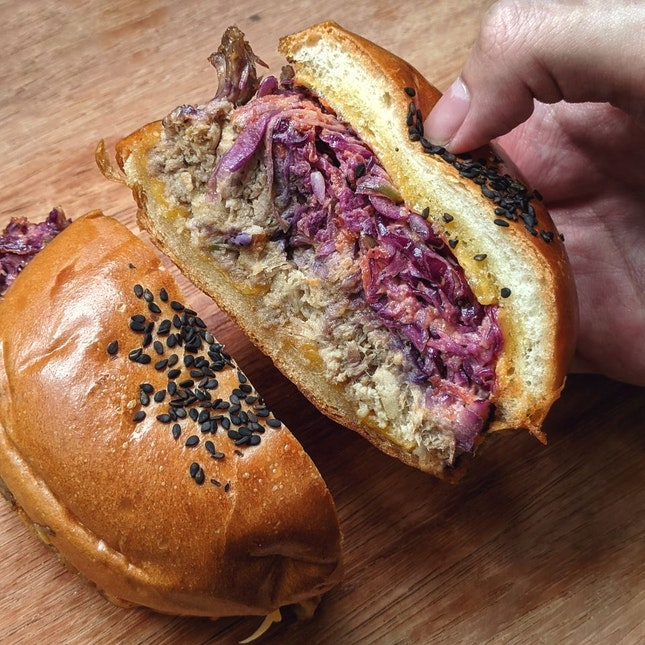 The Perfect Pulled Pork Burger