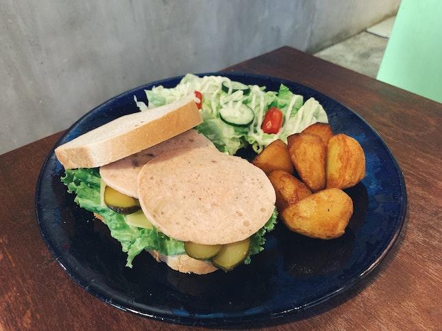 Chicken Ham Sandwich