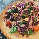 Superfood Salad With Pomegranate Vinaigrette