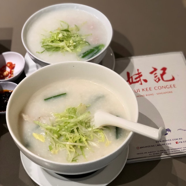 Parrot Fish Belly Congee $11.80++