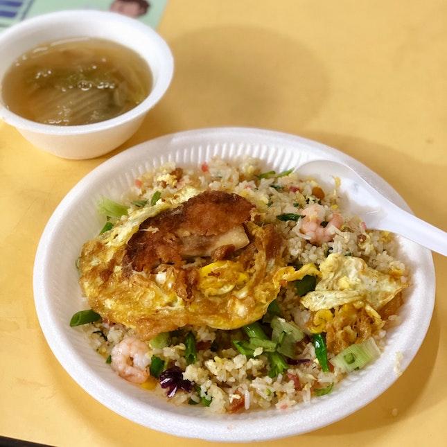 Prawn Fried Rice $2