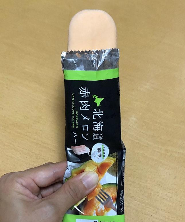 Hokkaido Cantaloupe Ice Bar🍈🍦$1.50