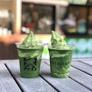 Matcha fix!!🍃🍃 - - - Tsujiri was on my to try matcha list for a Long time and we finally got to try it thanks to the 1-1 on the Far East app!!