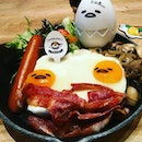 Having Gudetama breakfast,Big Nua Breakfast using eatigo app.Up to 50percent off selected timings.