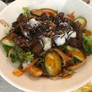 """Japchae"" Beef Salad"