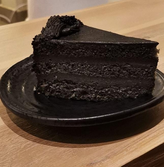 Goma Cake (Black Sesame)