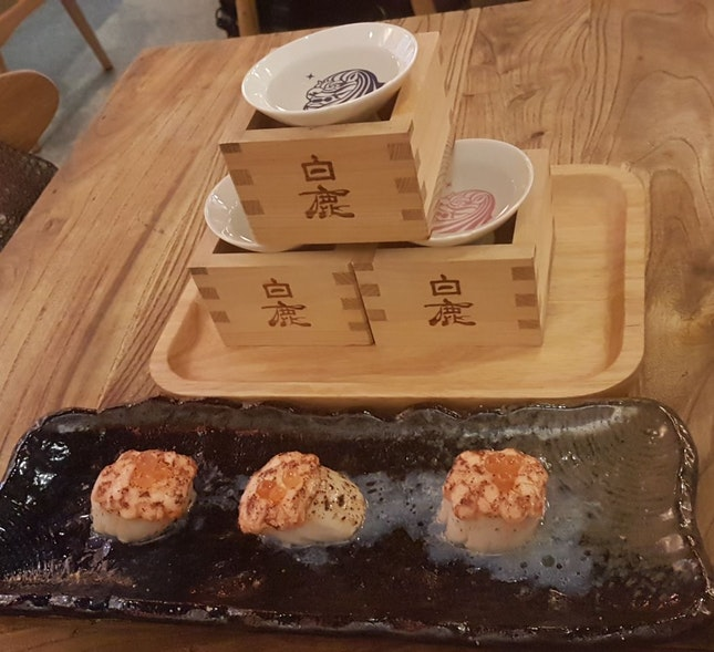 Great Food And Sake!