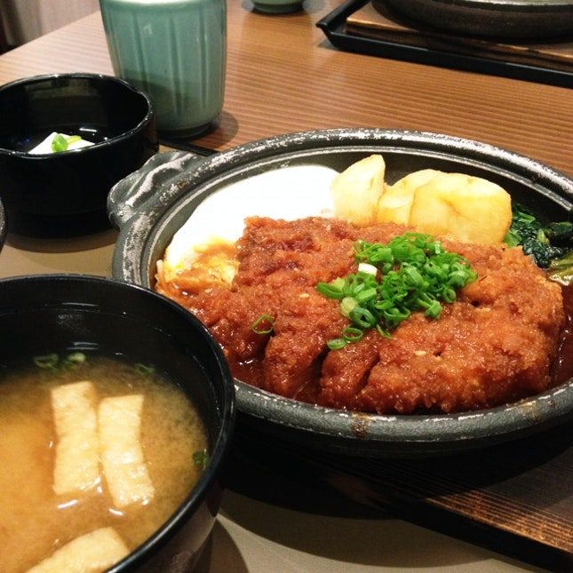 Miso Pork Cutlet