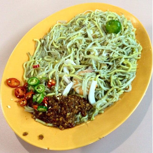 Chilli Training with Hokkien Mee