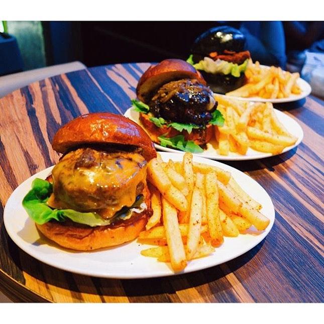 Burger party tonight!