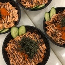 salmon mentaiko bowl small ~$10 after burpple beyond