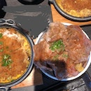 Tokachi pork rice bowl ~$12++, Chicken cutlet with egg sauce set $8.9++ (student meal with drink)