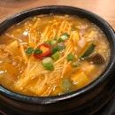 Bean paste soup (pork) $13.5+