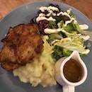 Chicken with Truffle Mash $16.9++