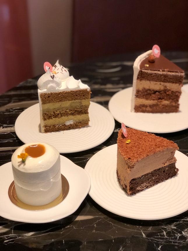 Suzette, Hojicha, Earl Chocolate, Hazelnut Praline, total ~$51 (min spending of $10.9/ person)