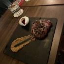 Steak with mushrooms $29+