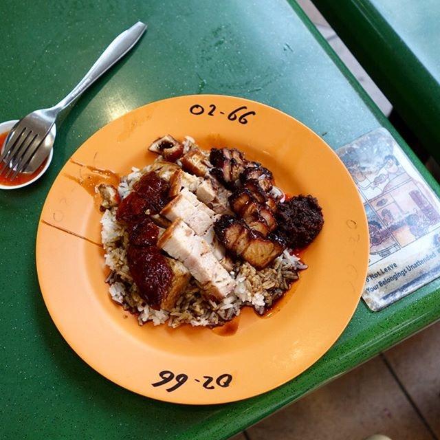 Tien lai rice stall.