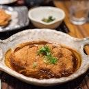 Miso Katsu Teishoku | simmered pork loin cutlet in miso paste