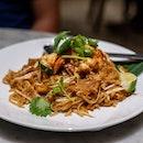 Phad Thai with Fresh Prawns