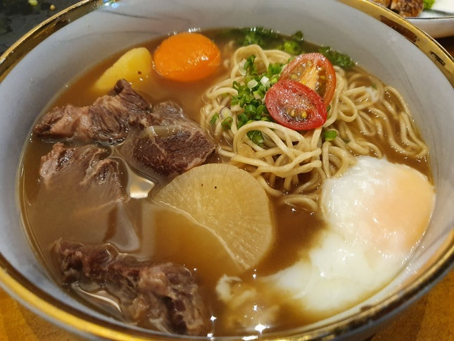 Tender Beef Noodle 😋