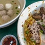 Chun Fu Fishball Minced Meat Noodle • Laksa (Kovan 209 Market & Food Centre)