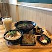 Chicken Rice Set ($8) & Beef Noodle Soup Set ($13)