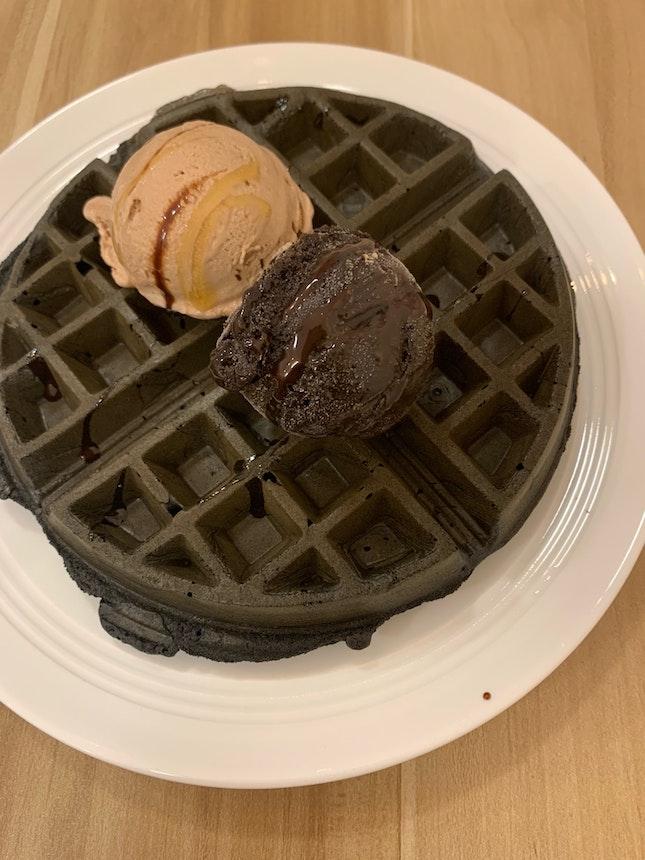 Spongy Waffles
