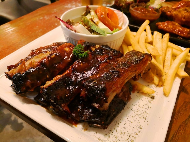 Tangy And Succulent Ribs!
