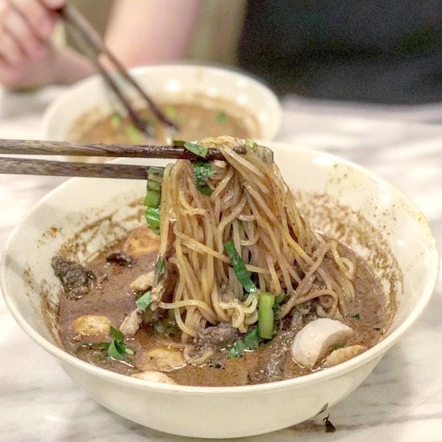 Combo Thai Boat Noodles ($9.90)