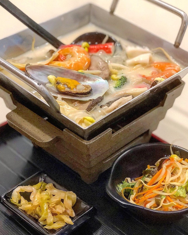 Seafood Steamboat ($15.80-+)