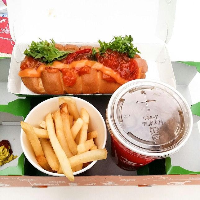 Special Hot Dog Set
