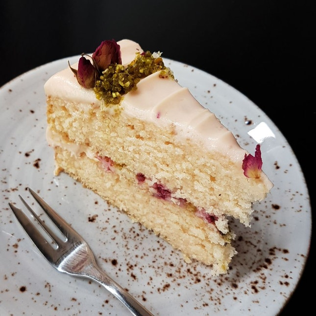 Rose Raspberry Cake