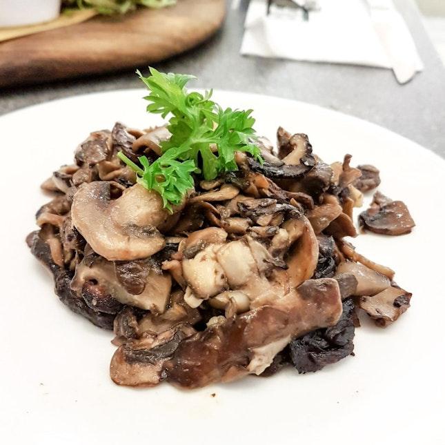 Sauteed Wild Mushroom