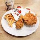 2pcs Crispy Chicken