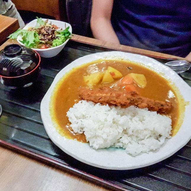 Sakana Curry Set