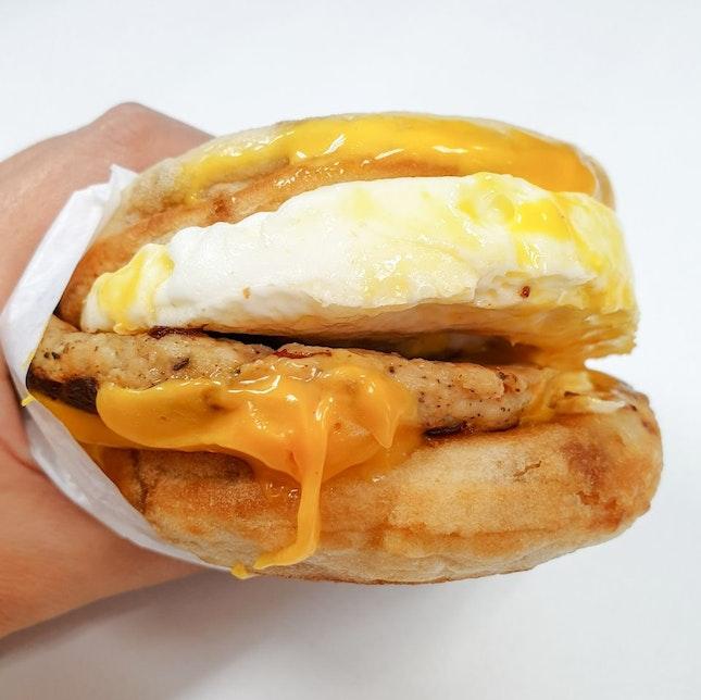 Sausage McGriddles with Egg