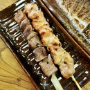 Charcoal Grilled Skewers
