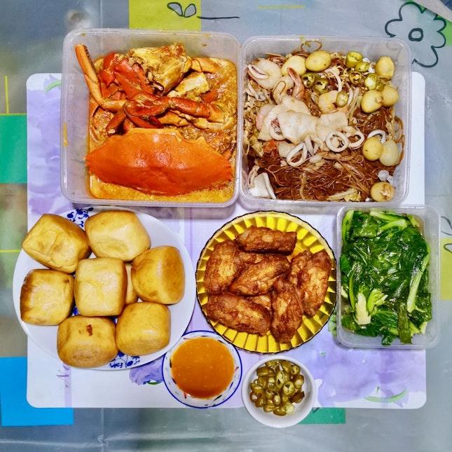 Birthday Meal During Circuit Breaker