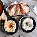 Zesty Hummus/TaramasalataDip