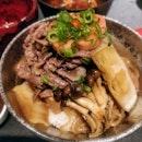 Beef Sukiyaki Don + Wagyu Sukiyaki Don
