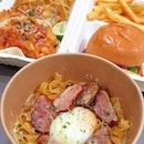 Crazy carbonara ($16.90) 🍝 Fish and chips ($15.90) 🍟.| And 50% off for first orders!