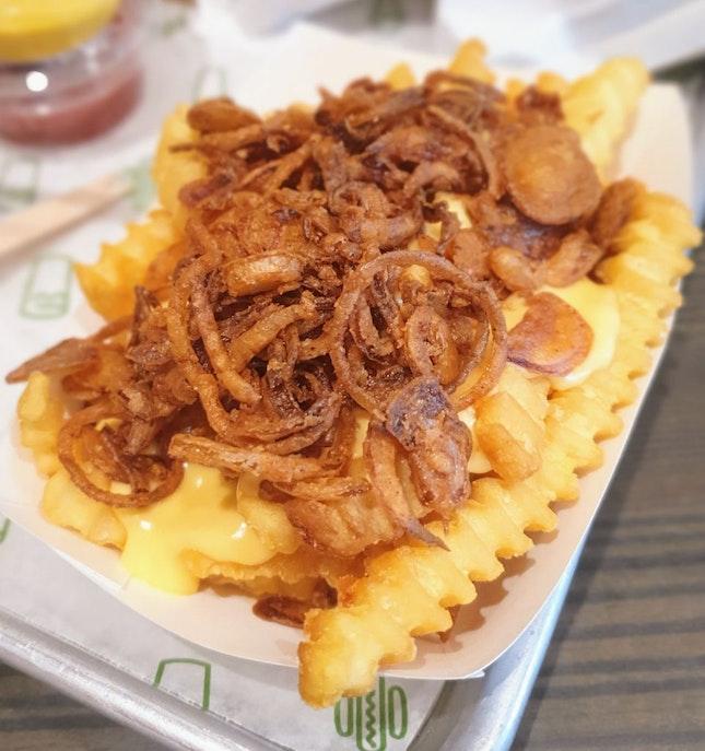 Shackmeister fries ($5.90) 🍟 9/10
