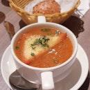 Onion soup ($10) 🌰 5/10