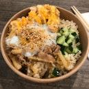 Mentai Salmon & Shabu Beef Bowl