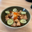 Aburi Salmon Bowl ($13)