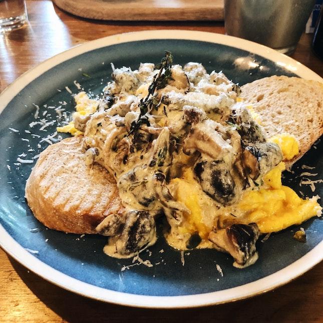 Truffle Eggs Mushroom ($12.90)