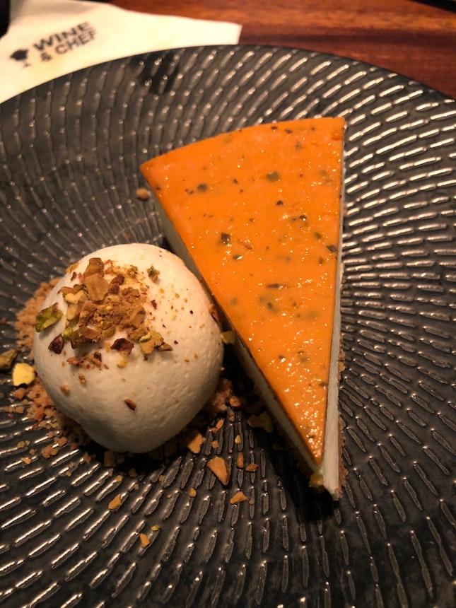 Salted Egg Cheesecake
